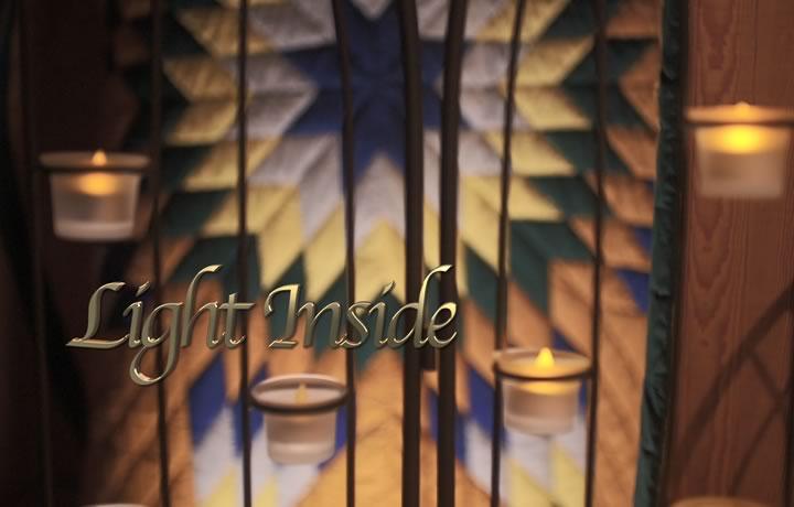 6 Weeks to Christmas: Light Inside