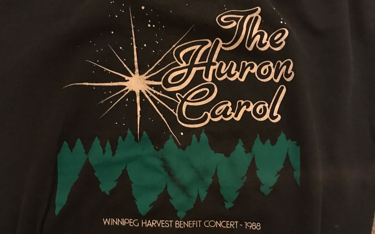 1988 Huron Carole sweatshirt